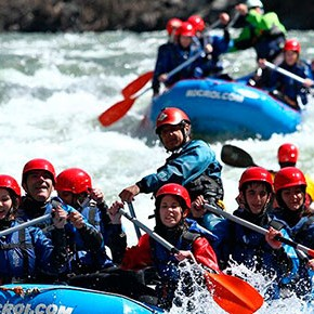 Rafting y aventura en Mountain Sport Center